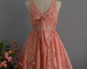 Peach dress peach lace dress peach party dress peach lace cocktail dress peach bridesmaid dresses lace bridesmaid dresses peach dresses