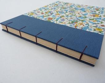 Photo album, made to order, Florentine, Rossi, floral, Coptic, watercolour paper