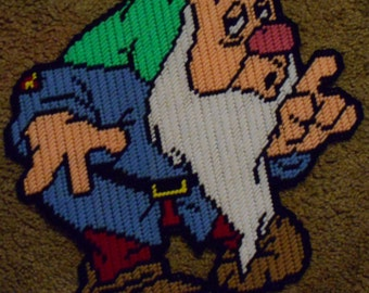 Sleepy From 7 Dwarves Plastic Canvas Pattern