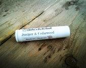 Juniper & Cedarwood Mini Deodorant - Deodorizing Essential Oil Blend, Trial Size, Extra Strength, Aluminum Free