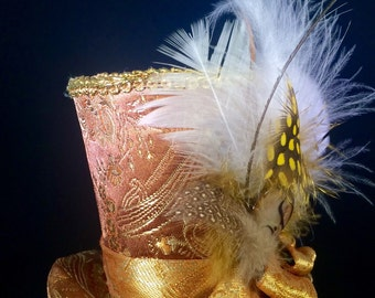 Gilded Tiny Top Hat
