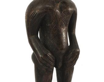 Senufo Rhythm Pounder on Stand Côte D'ivoire African Art 102188