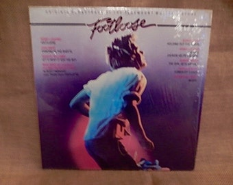 FOOTLOOSE - Original Motion Picture Soundtrack - 1984 Vintage Vinyl Record Album