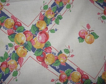 Fruit-themed table cloth