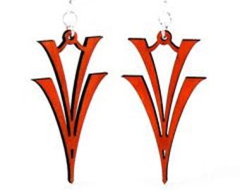 V on V - Wood Earrings