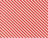 Handmade Red Candy Stripe 55145 11 by Bonnie & Camille for Moda