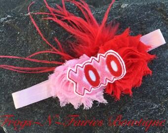 Valentine's XOXO Baby Headband