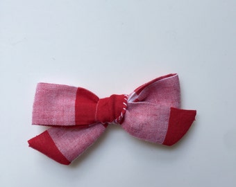 Gingham Dainty Bow