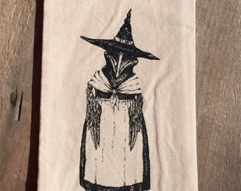 Mrs. Crow Tea Towel - Kitchen - Houseware - Crow - Gift - Fall - Holiday
