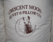 Travel Size Alpaca Wool Natural Organic Pillow