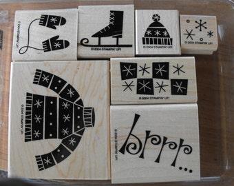 Stampin Up - Stamp Set - Bundle Up - Set 75