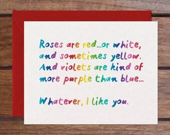 Roses (Rainbow Foil)