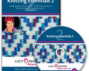 On SALE: 50% OFF! Lucy Neatby's Knitting Essentials 2 DVD