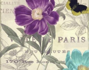 Petals of Paris II - Cross stitch pattern pdf format