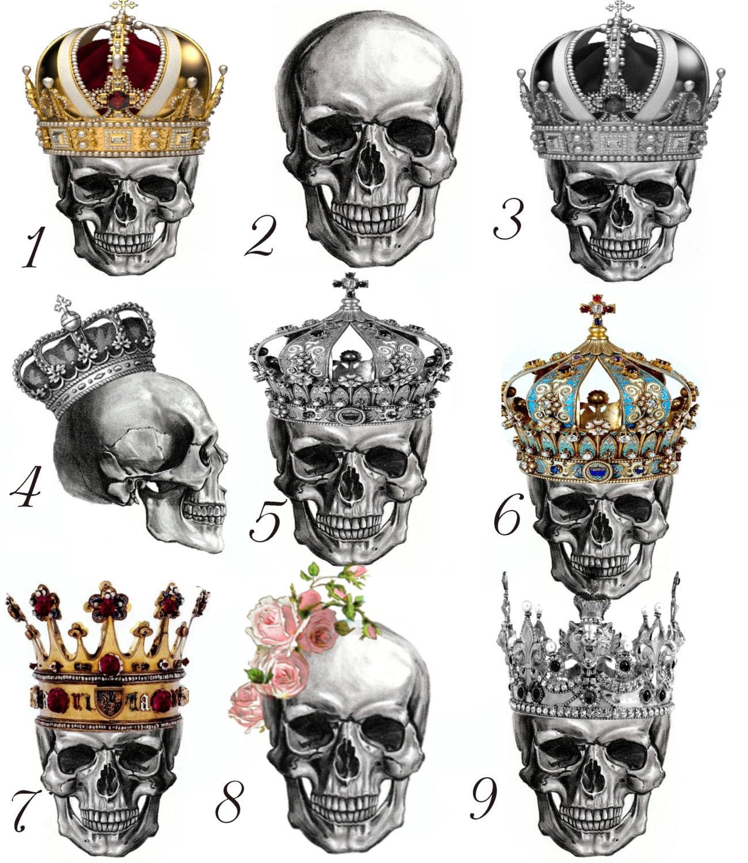 Image Gallery Skeleton Crown