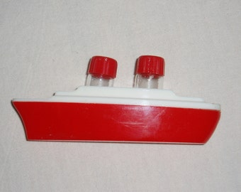 Vintage Ship Salt and Pepper