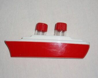 Vintage Ship Salt and Pepper