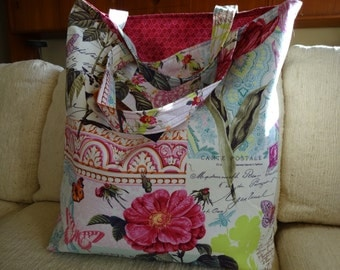 French Cards Market Tote