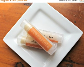 ON SALE Creamsicle Organic Vegan Lip Balm .15oz Tube
