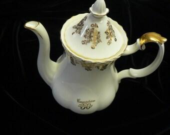Royal Albert Bone China Six Cup Coffee Pot Price Reduced