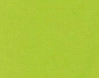 Chartreuse, Kona Cotton, Robert Kaufman Fabrics, 1/2 Yard