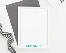 Personalized Stationery for Boys // Boys Stationary // Boys Notecards // Boys Stationery // Choose your colors