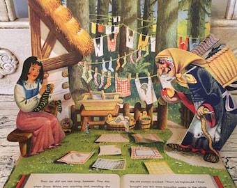 Vintage Pop-Up Book - Snow White - 1960s