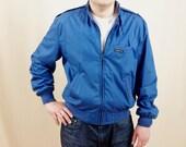 Mens Members Only Jacket * Blue Jacket * Blue Members Only Jacket * 1980s Jacket * Lightweight Jacket * Mens Spring Jacket