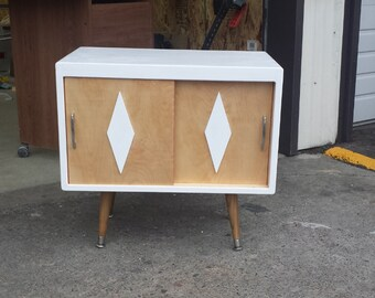 Mid Century Micro TV Stand / Cabinet
