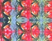 Shibori Fabric, Fat Quarter, Hand Dyed Fabric, Fabric, Primary Colors, Ice Dyed Fabric, Fiber Arts, Quilting Fabric, Cotton Fabric, Shibori