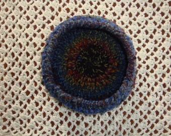 "9""  Crochet Decorative Bowl Small Pet Bed"
