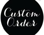 Custom order for Ahmed. Envelope  personalized inscription
