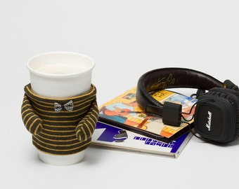 CoffeeMate V2 - Cup Sleeve Coffee Cozy Unique Design Gifts for Coffee Lovers Home Interior Décor