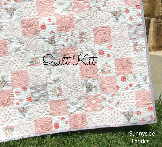 Storybook Quilt Kit Baby Girl Blanket Moda By Kate And