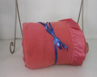 TENNESSEE MILLS Wool Vintage Blanket Rose