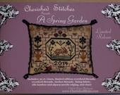 Cherished Stitches: A Spring Garden - a Limited Edition Cross Stitch Kit