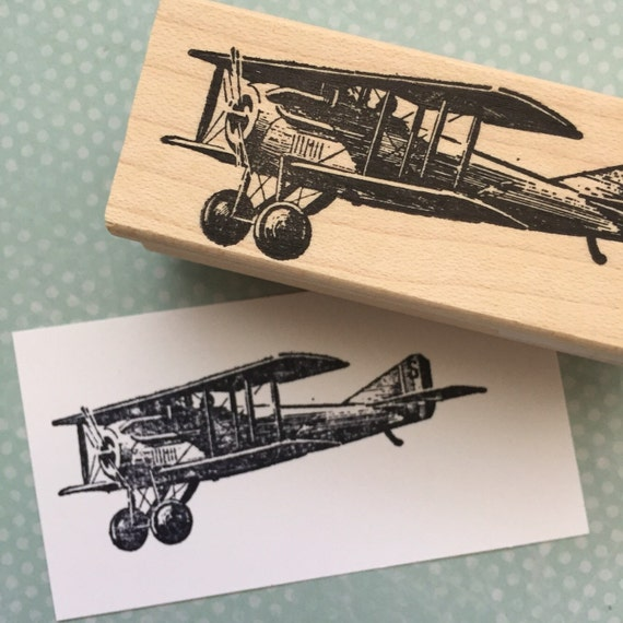 Prop Plane Rubber Stamp 850 R