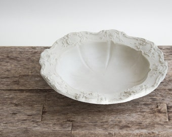 Handcrafted Concrete Bowl
