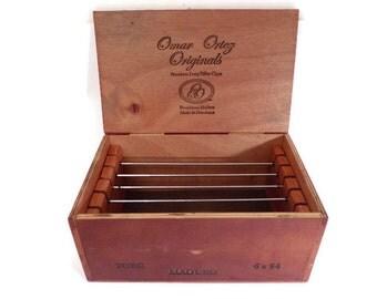 Cigar Box Custom Redwood Jewelry Box Display-Storage- For European Style Large Hole Beads