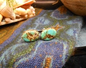 Turquoise Colored Stone Cufflinks