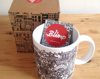 Bury St.Edmunds Illustrated Mug