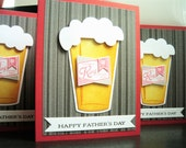 Father's Day Card, Card for Father, Beer Lover Card, Microbrew Beer Card, Craft Beer Card for Dad, Happy Father's Day Card