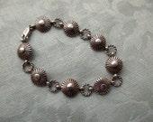 sterling silver link bracelet - 925, Pat Bedoni, Navajo, charm bracelet