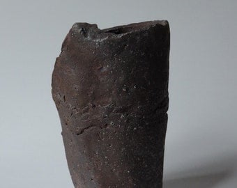 Wood Fired Vessel - North Coast Range Series, Local California Clay, #546
