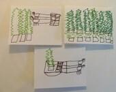 Christmas Tree Adventure Cards
