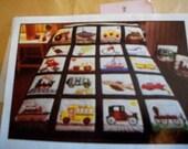 Transportation Quilt Pattern