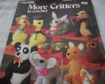More Critters To Crochet Craft Book