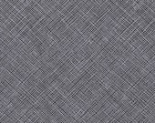 Architextures Crosshatch in Charcoal, Carolyn Friedlander, Robert Kaufman Fabrics, 100% Cotton Fabric, AFR-13503-184 CHARCOAL