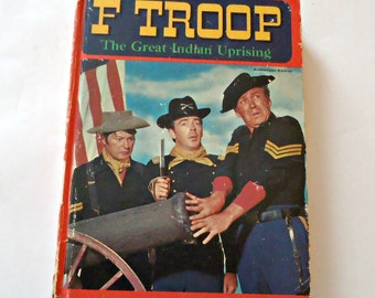 F Troop Book  The Great Indian Uprising 1967