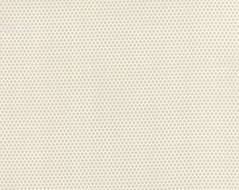 Fabric by the Yard - Little Ruby by Bonnie and Camille - Bliss Dot Grey